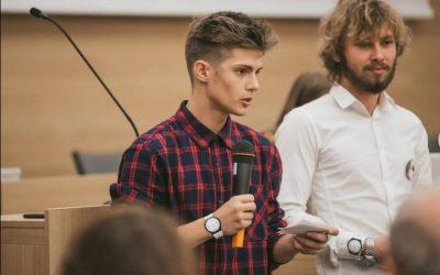 Blog o dobrovoľníctve v Show your talent