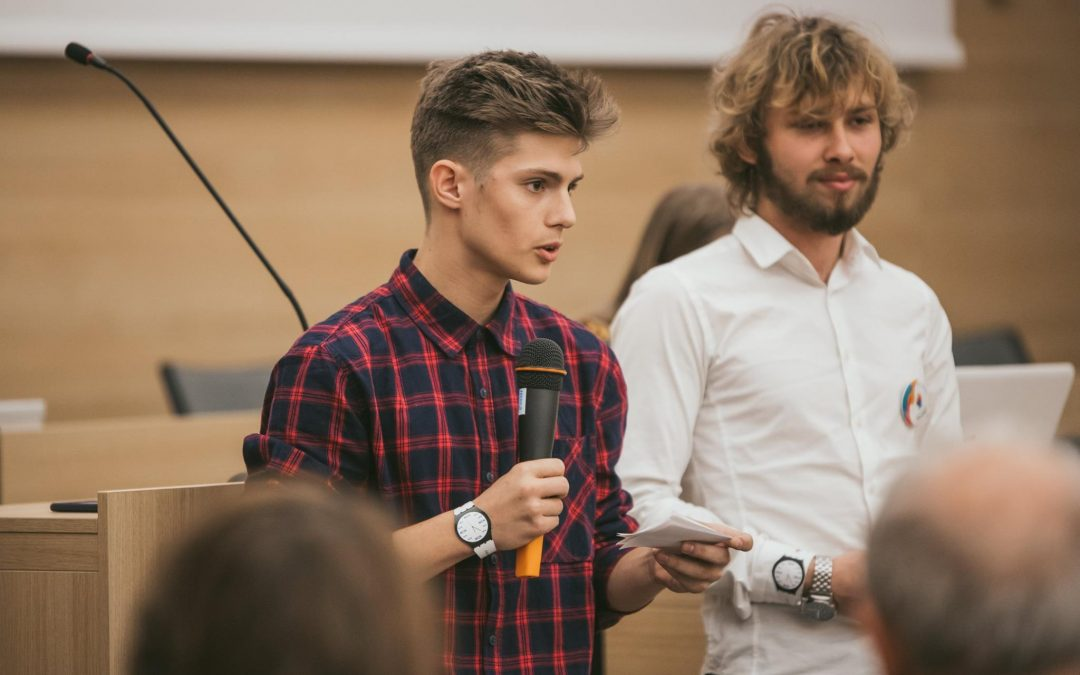 Očami študenta, ako prebiehal projekt Show your talent?